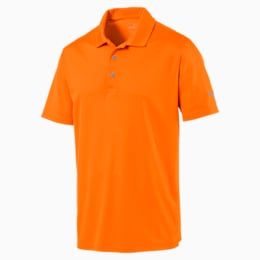 Polo Rotation Golf pour homme, Vibrant Orange, small