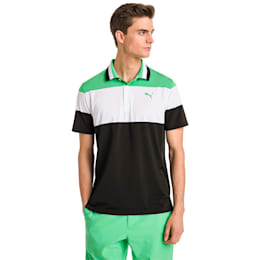 Nineties Men's Golf Polo, Irish Green, small