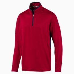 Rotation Men's 1/4 Zip Pullover, Rhubarb, small