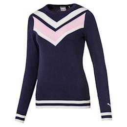 Sweatshirt de golf Chevron pour femme