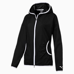 Zephyr Hooded Women's Golf Jacket