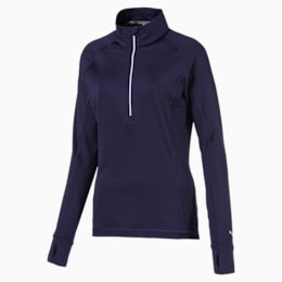 Pull de golf Rotation 1/4 Zip pour femme, Peacoat, small