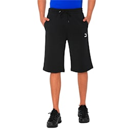 "Classics Logo 12"" Men's Shorts, Cotton Black, small-IND"
