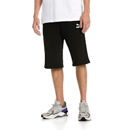 "Classics Logo 12"" Men's Shorts, Cotton Black, small-SEA"