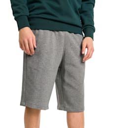 "Classics Logo 12"" Men's Shorts, Medium Gray Heather, small"