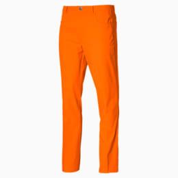 Jackpot Men's 5 Pocket Pants, Vibrant Orange, small