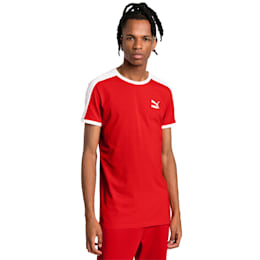 Iconic T7 Slim Men's Tee, High Risk Red, small-SEA