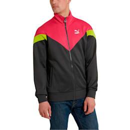 Iconic MCS Men's Track Jacket, Asphalt, small