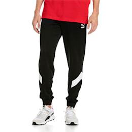 Iconic MCS Men's Track Pants, Puma Black -1, small-IND