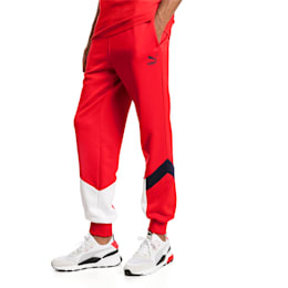 Iconic MCS Men's Track Pants, High Risk Red, small