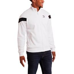 Iconic MCS Men's Mesh Track Jacket, Puma White, small
