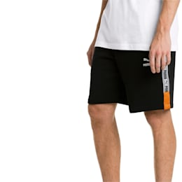 """XTG Knitted Men's 8"""" Shorts, Cotton Black, small-IND"""