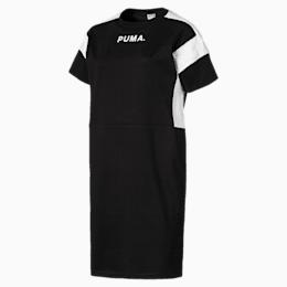 Chase Women's Dress, Cotton Black, small-SEA