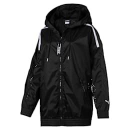 Chase Woven Full Zip Hooded Women's Jacket