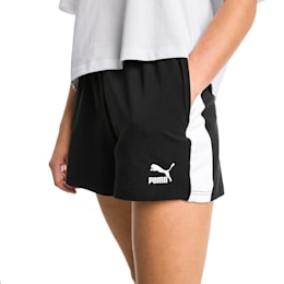 Classics T7 Knitted Women's Shorts, Cotton Black, small