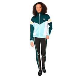 XTG 94 Women's Track Jacket, Fair Aqua, small-IND
