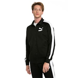 Iconic T7 PT Men's Track Jacket, Puma Black, small