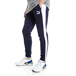 Pantalon en sweat Iconic T7 en maille pour homme, Peacoat, small