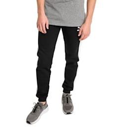 Archive Iconic T7 Double Knit Men's Track Pants, Cotton Black, small