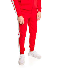 Archive Iconic T7 Double Knit Men's Track Pants, High Risk Red, small