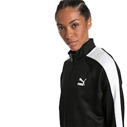 Chaqueta deportivaClassicsT7 para mujer, Puma Black-1, pequeño