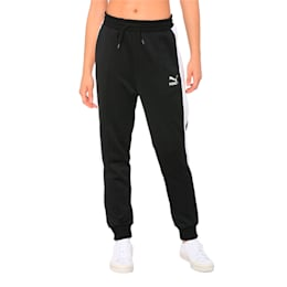 Classics T7 Knitted Women's Track Pants, Puma Black, small-IND