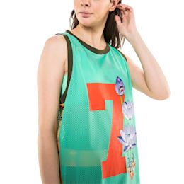 PUMA x SUE TSAI Women's Dress, Biscay Green, small
