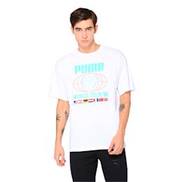 PUMA x DIAMOND Short Sleeve Men's Tee, Puma White, small-IND