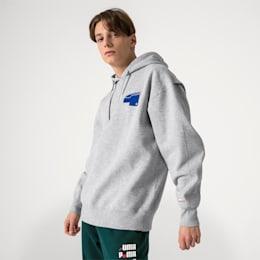 Bluza z kapturem PUMA X ADER ERROR, Light Gray Heather, small