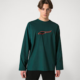 Camisa de manga larga PUMA x ADER ERROR, Ponderosa Pine, small