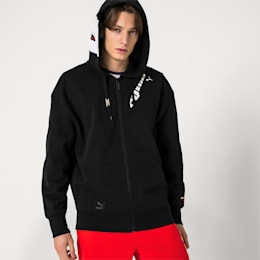 PUMA x ADER ERROR Full Zip Hoodie, Cotton Black, small