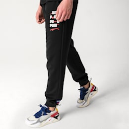 PUMA x ADER ERROR Knitted Sweatpants, Cotton Black, small