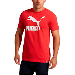 Archive Life Men's Tee, Ribbon Red-Puma White, small