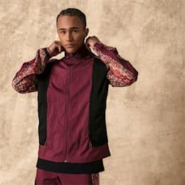 PUMA x LES BENJAMINS Men's Track Jacket, Burgundy, small-SEA