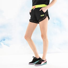 PUMA x SOPHIA WEBSTER Women's Shorts, Puma Black, small-SEA
