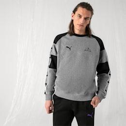PUMA x SANKUANZ Crewneck Sweatshirt, Medium Gray Heather, small