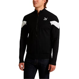 Iconic MCS evoKNIT Men's Track Jacket, Puma Black, small
