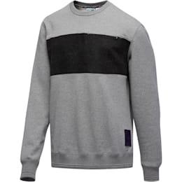PUMA x PRPS Supply Men's Crewneck Sweatshirt, MGH-Puma Black, small