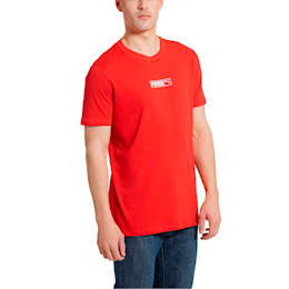 Graphic Logo No. 2 Men's Tee, High Risk Red, small