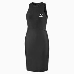 Vestido Classics com abertura para mulher, Puma Black, small