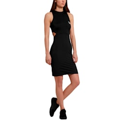 Classics Cut-Out Women's Dress, Puma Black, small-SEA
