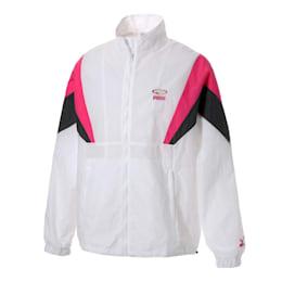 90S RETRO ウーブンジャケット, Puma White, small-JPN