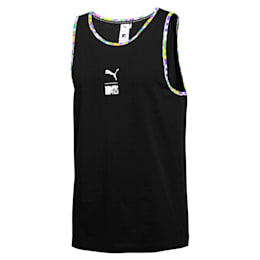 PUMA x MTV Herren Tank-Top, Puma Black, small