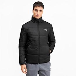 Essentials Herren Gefütterte Jacke, Puma Black, small