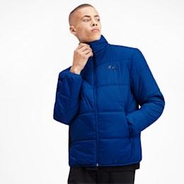 Essentials Herren Gefütterte Jacke, Galaxy Blue, small