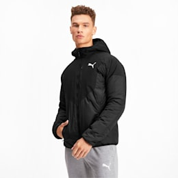 PWRWarm Padded Men's Jacket, Puma Black, small-IND