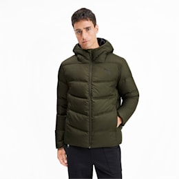 Essentials 400 Down HD Men's Jacket, Forest Night, small-IND