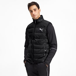 PWRWarm packLITE 600 Down Men's Vest, Puma Black, small