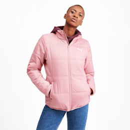 Essentials Women's Padded Jacket, Bridal Rose, small