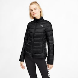 PWRWarm packLITE 600 Down Women's Jacket, Puma Black, small